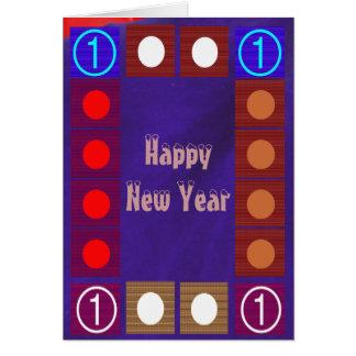 Happy NewYear - Buy Blank or Add Greeting Note Card