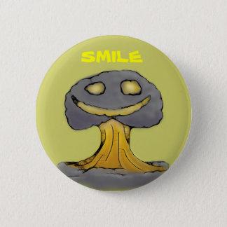 Happy Nuke 6 Cm Round Badge