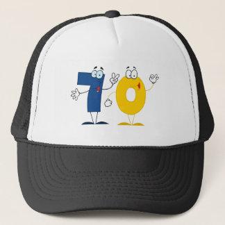 Happy Number 70 Trucker Hat