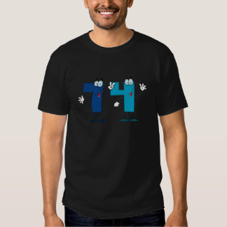 Happy Number 74 T-shirts
