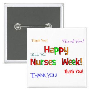 Happy Nurses Week Buttons