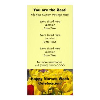 Happy Nurses Week Celebration Event Cards custom Custom Photo Card