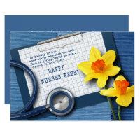 National nurses week gifts on zazzle au happy nurses week customisable greeting cards m4hsunfo