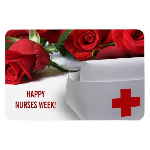 Happy Nurses Week! Gift Magnet Magnets