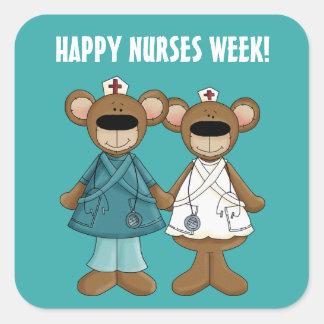 Happy Nurses Week Gift Stickers