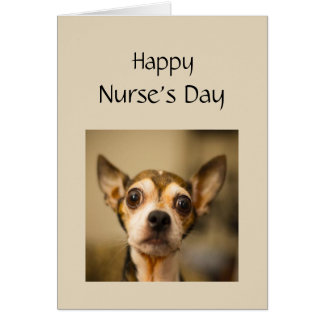 Happy Nurses's Day Being a Nurse can be Scary Fun Card
