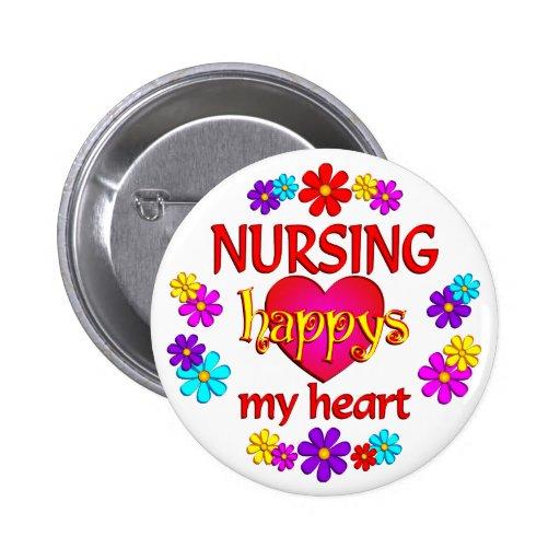 Happy Nursing Buttons