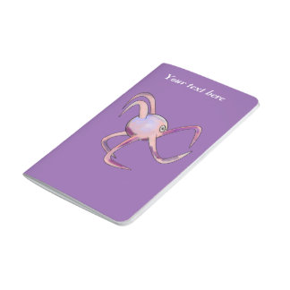 Happy Octopus pocket notebook