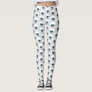 Happy Onigiri (riceball) Leggings - Women's