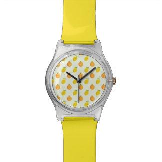 Happy Orange and Lemon Citrus Summer Watch