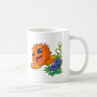 Happy orange JubJub in Neopia Central Coffee Mug