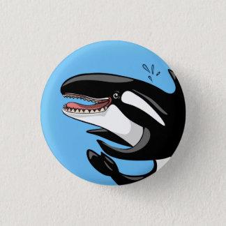 Happy Orca Button