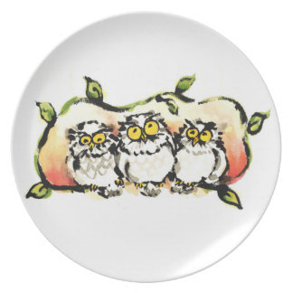 Happy owl brothers/the wax three sibling who is plate