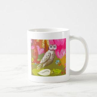 Happy Owl Coffee Mugs