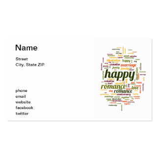 Happy Pack Of Standard Business Cards