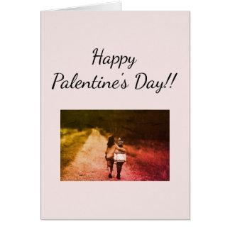 Happy Palentine's Day card