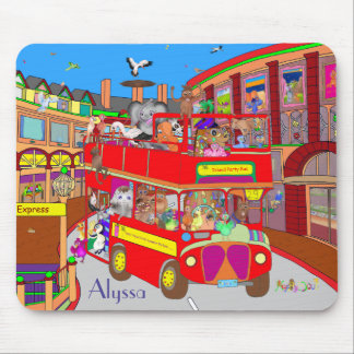Happy Palm Island Tours by The Happy Juul Company Mouse Pad