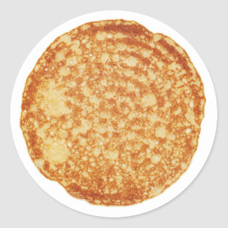Happy Pancake Day! Classic Round Sticker