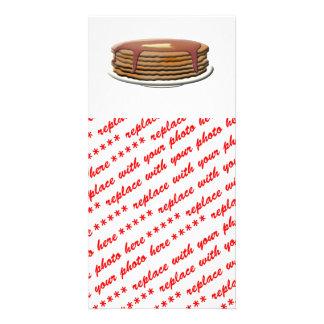 Happy Pancake Day - Pancake Stack Custom Photo Card
