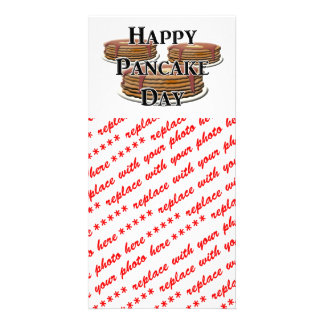 Happy Pancake Day Photo Card Template