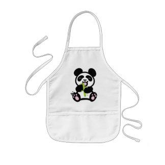 Happy Panda Kid's Apron