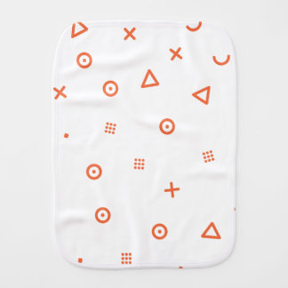 Happy Particles Burp Cloth