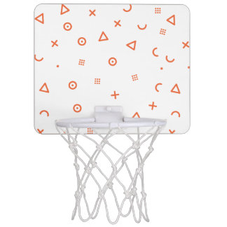 Happy Particles Mini Basketball Hoop