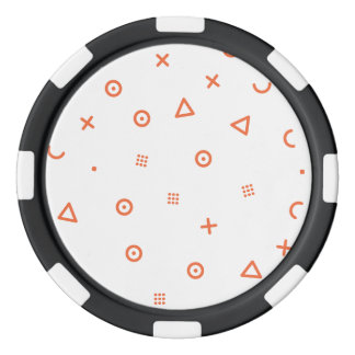 Happy Particles Poker Chips
