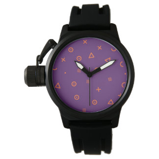 Happy Particles Purple Watch