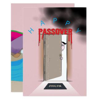 Happy Passover Exodus Cartoon Greeting Card