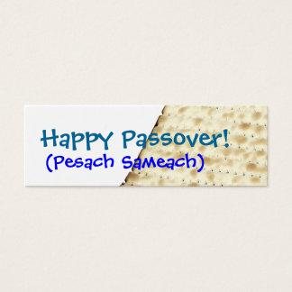 Happy Passover Matzoh Gift Tag