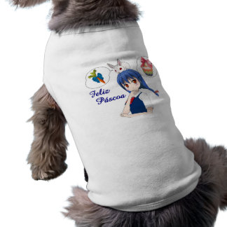 Happy Passover - Personalizável Sleeveless Dog Shirt