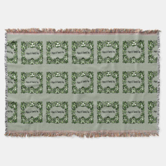 Happy Patrick s Day 2a Throw Blanket