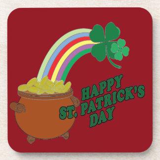 Happy Patrick s Day Coaster