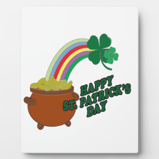 Happy Patrick s Day Display Plaque