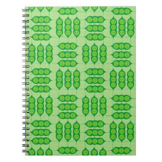 Happy Peapods Notebooks