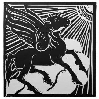 happy Pegasus Napkin