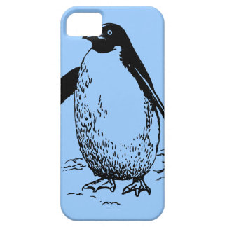 Happy Penguin Barely There iPhone 5 Case