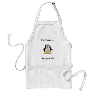 Happy Penguin Standard Apron