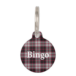 Happy Pet Clan MacPherson Tartan Plaid Pet Name Tag