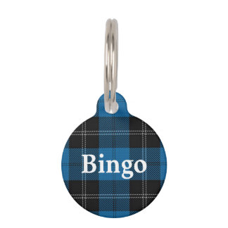 Happy Pet Clan Ramsay Tartan Plaid Pet ID Tag
