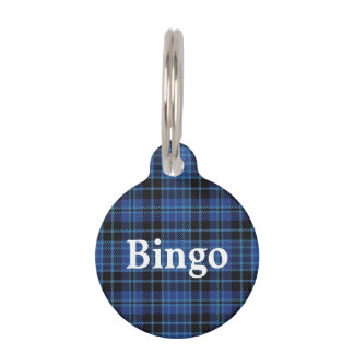 Happy Pet Scottish Clergy Tartan Plaid Pet Tag