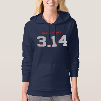 Happy Pi Day 3.14 Numbers Hoodie