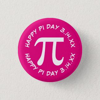 Happy Pi Day 3 Cm Round Badge