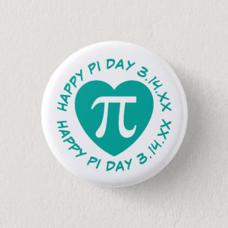 Happy Pi Day 3 Cm Round Badge