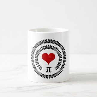Happy Pi Day Heart Math Digits 3.14 Mathematics Coffee Mug