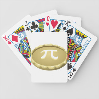happy pi day pie bicycle playing cards