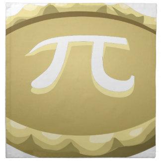 happy pi day pie napkin