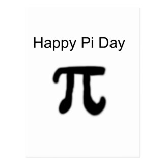 Happy Pi Day Postcard