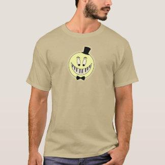 Happy pianist cool cartoon T-Shirt